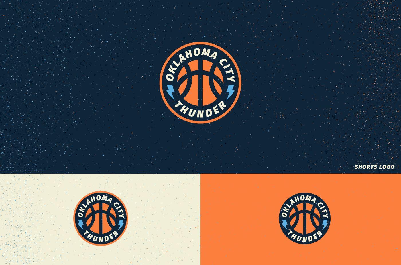 12282cfa5 Oklahoma City Thunder Re-Brand on Behance
