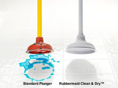 Clean Dry Plunger Plunger Rubbermaid Cleaning Inspiration