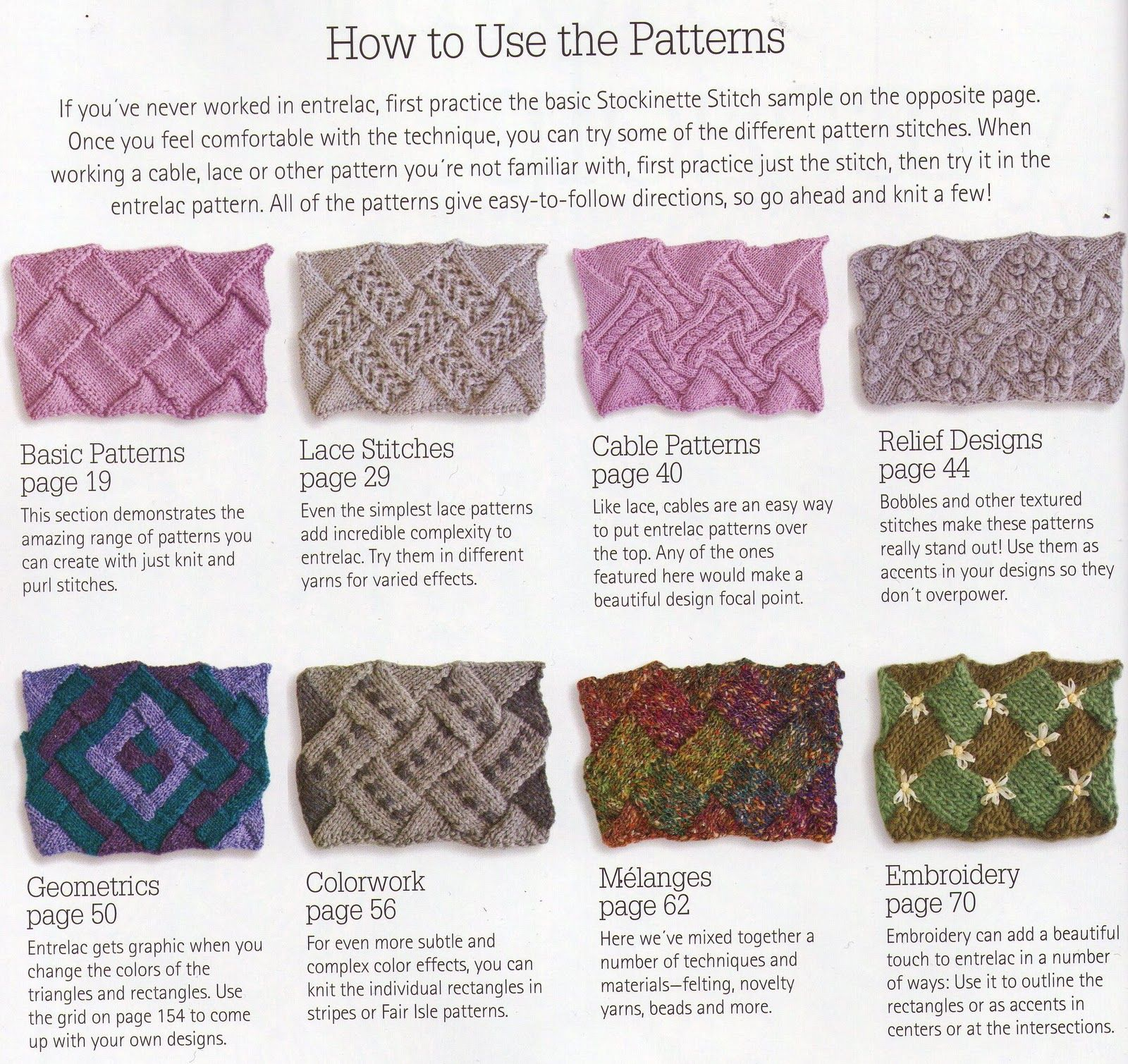 From a book entrelac the essential guide to interlace knitting from a book entrelac the essential guide to interlace knitting by rosemary bankloansurffo Images
