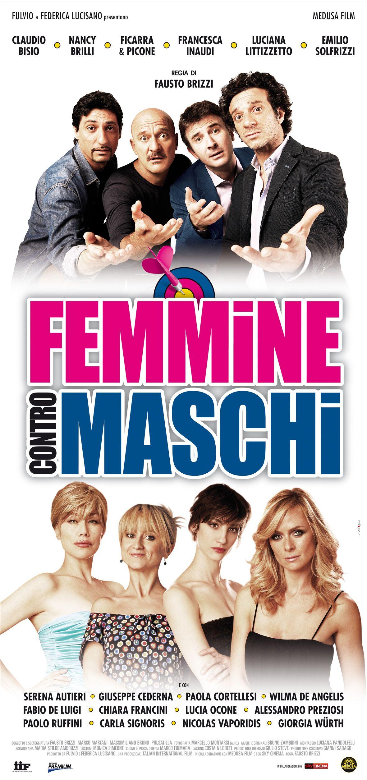 Femmine Contro Maschi Di Fausto Brizzi 2011 Film Femminismo Bellezza Senza Eta