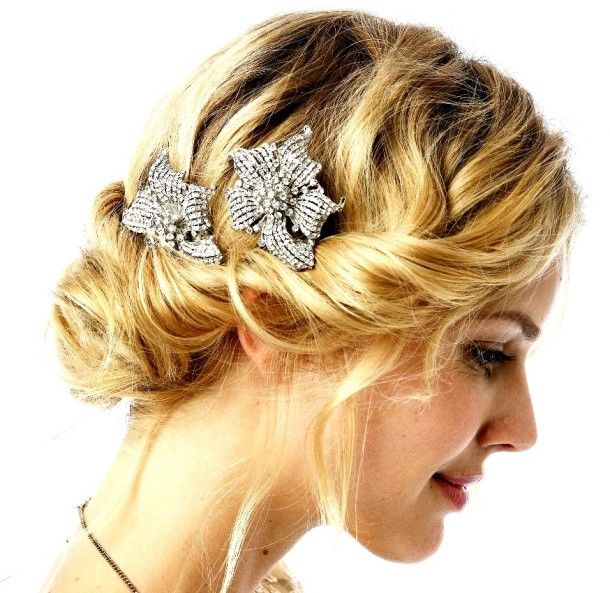 1920s Hairstyles For Long Hair For Long Hair Long Out More About The Age With Images Short Wedding Hair Wedding Hairstyles For Medium Hair Medium Hair Styles
