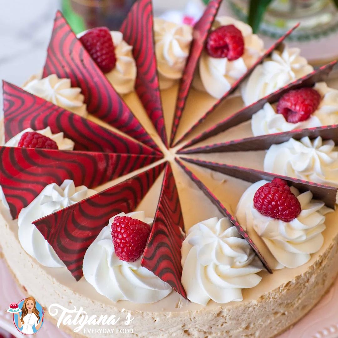 Photo of Caramel Raspberry Mousse Cake