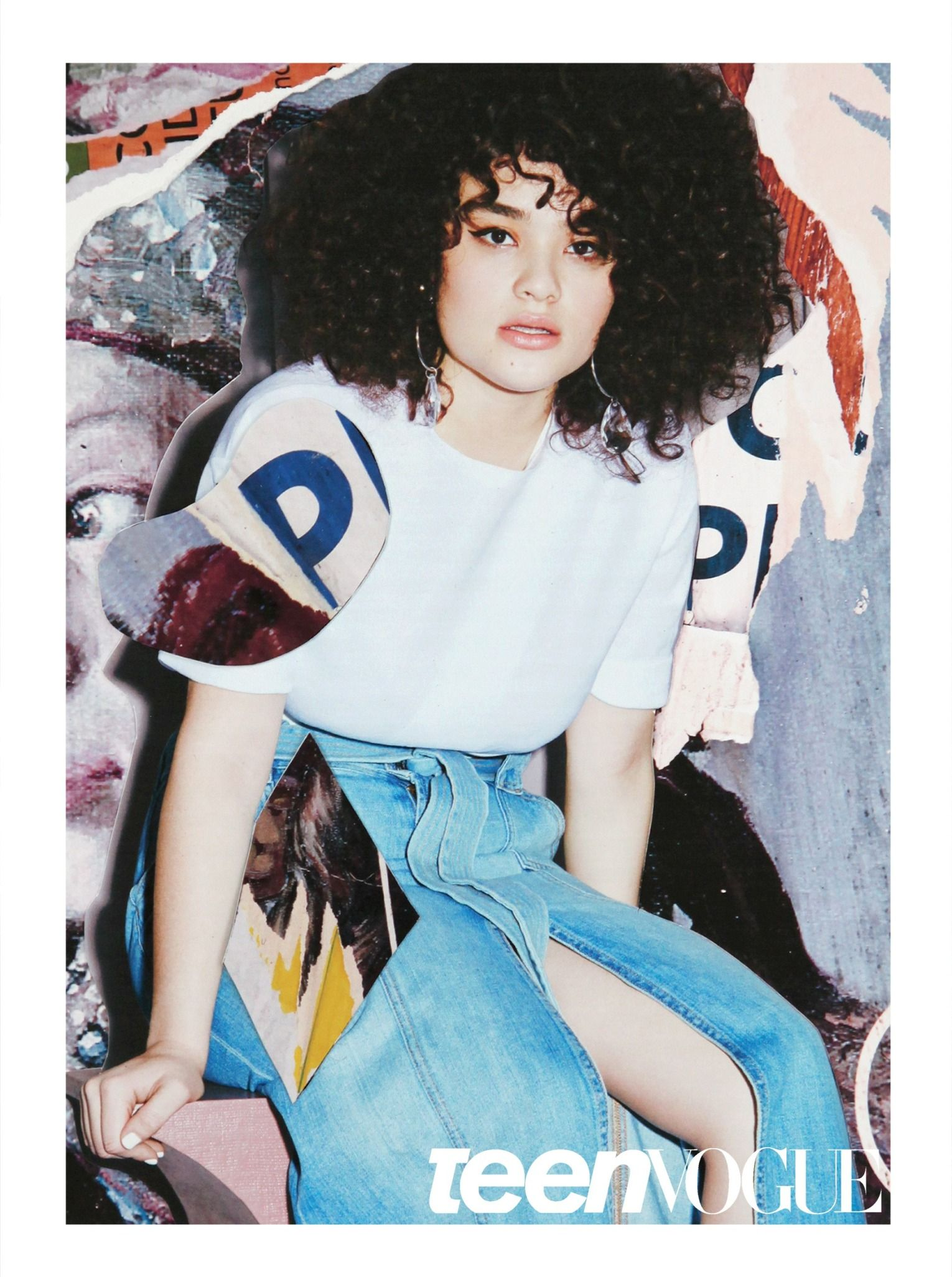 Incredible curls. That's the first thing you notice upon meeting Diana. Get to know the model in our August issue
