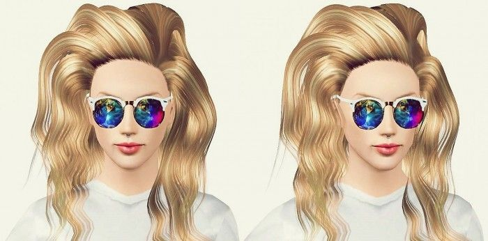 H0les Sunglasses For Females By Art Sims Sims 3 Downloads Cc
