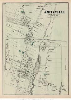 Amityville New York Map.Long Island Village Photos Amityville Long Island Old Photos 1880