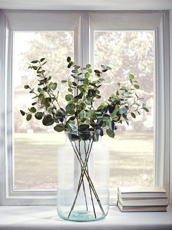 Artificial O Natural Decorar Con Plantas Y Flores Lugares Que - Plantas-secas-decoracion