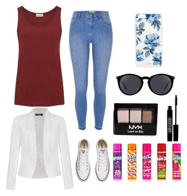 """""""Sans titre #24"""" by helenechev on Polyvore featuring mode, River Island, Converse, American Vintage, Ally Fashion, Sonix, Yves Saint Laurent, Lord & Berry et NYX"""