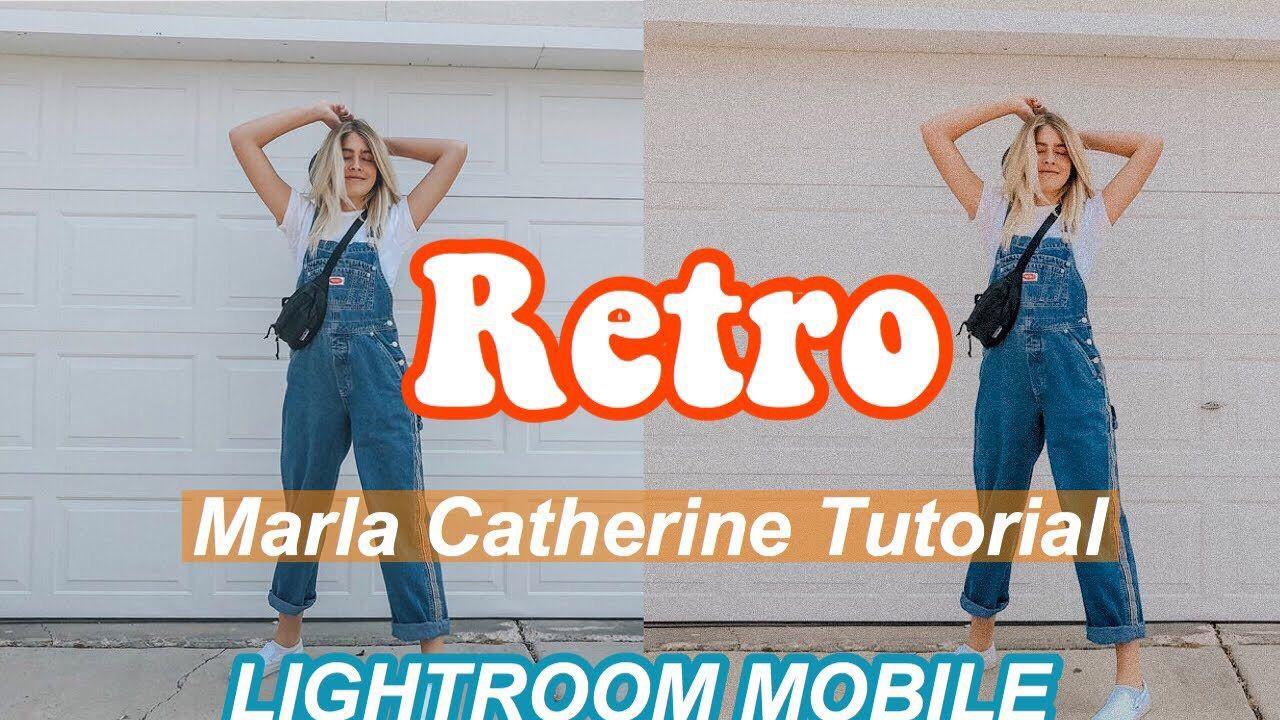 Retro Marla Catherine Lightroom Preset Marla Catherine Lightroom Lightroom Presets Free
