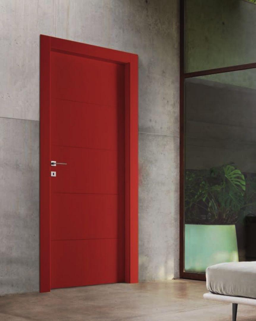 Porte Da Interno Colorate porta da interno colorata rossa (con immagini) | porte