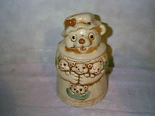 VINTAGE MAMMA MOUSE AND BABIES COOKIE JAR