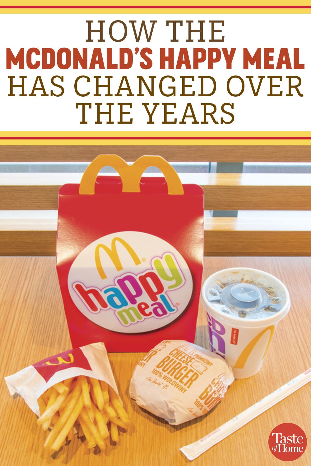 How The Mcdonald S Happy Meal Has Changed Over The Years Happy Meal Mcdonalds Happy Meal Happy Meal Box