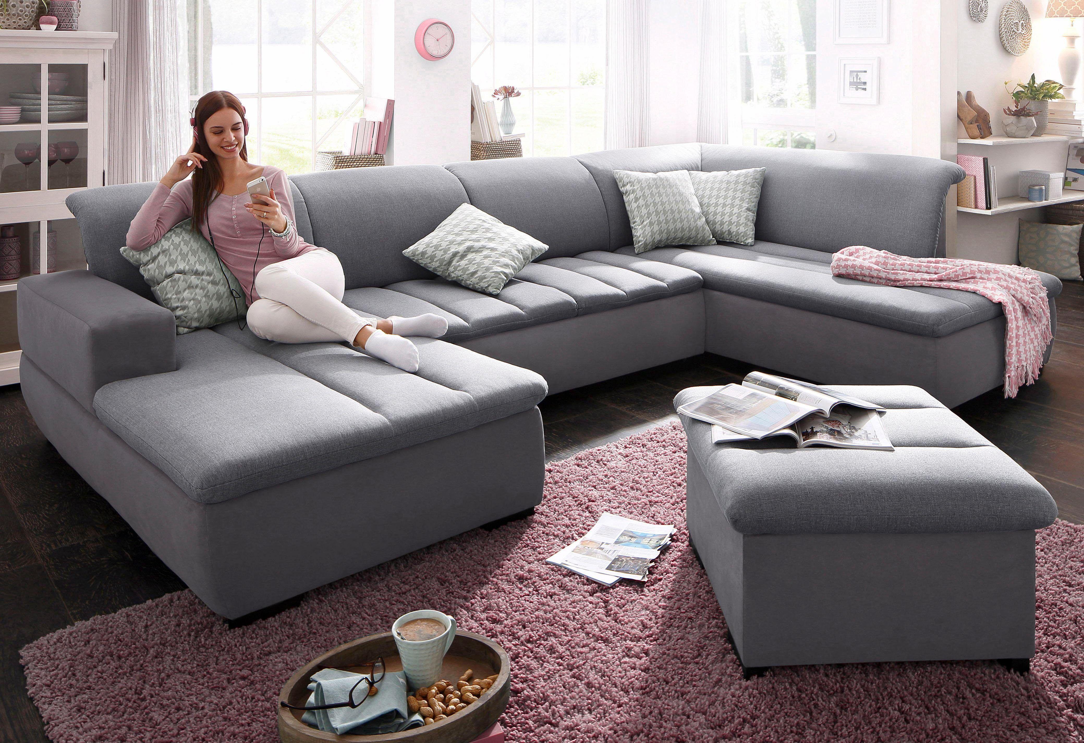 Home Affaire Xxl Wohnlandschaft Grau Recamiere Links Pellworm Mit Schlaffunktion Fsc Zertifiziert Jetzt Be Mobel Wohnzimmer Wohnzimmer Couch Couch Mobel
