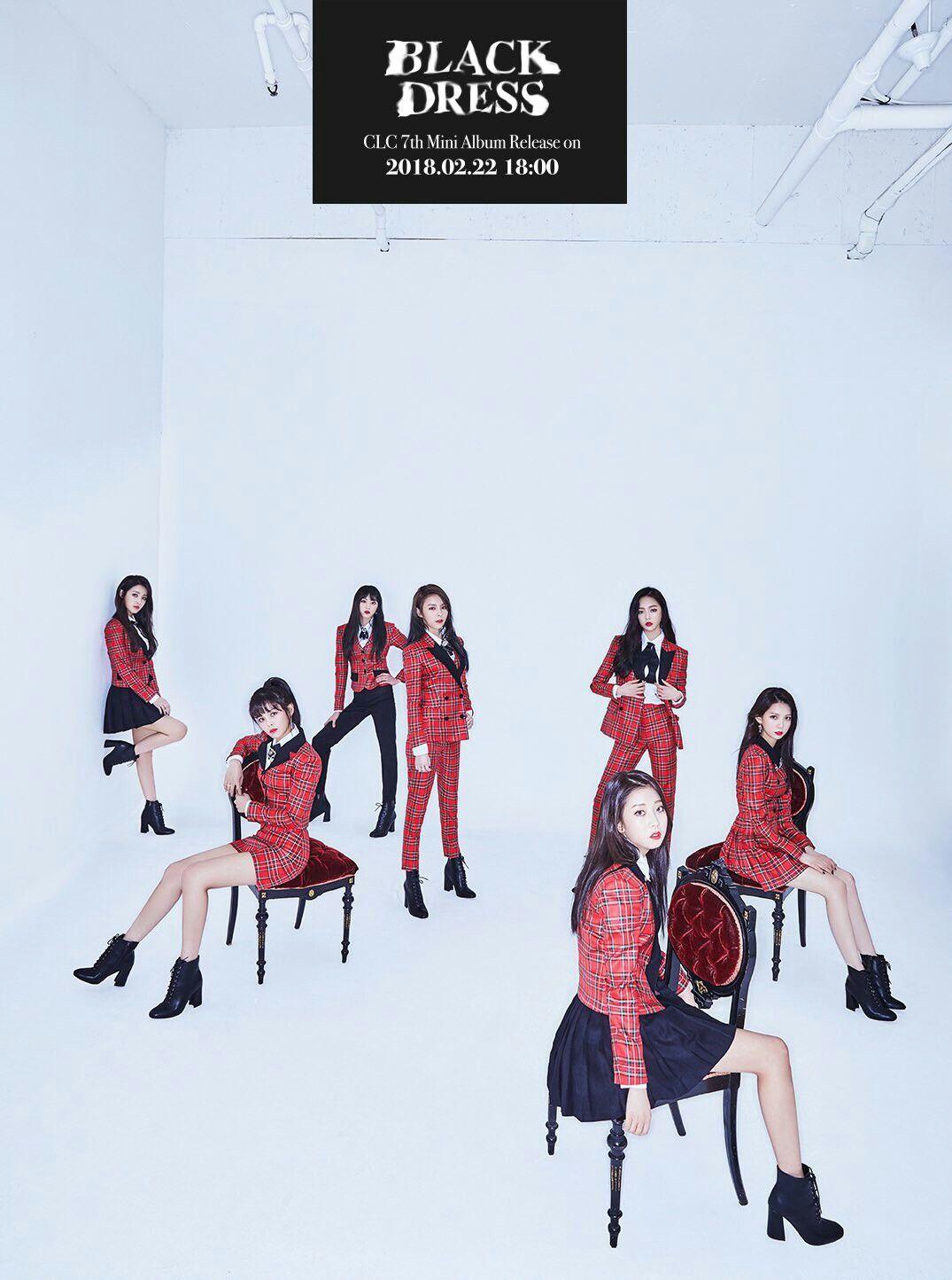 CLC - 'Black Dress' Teaser Image