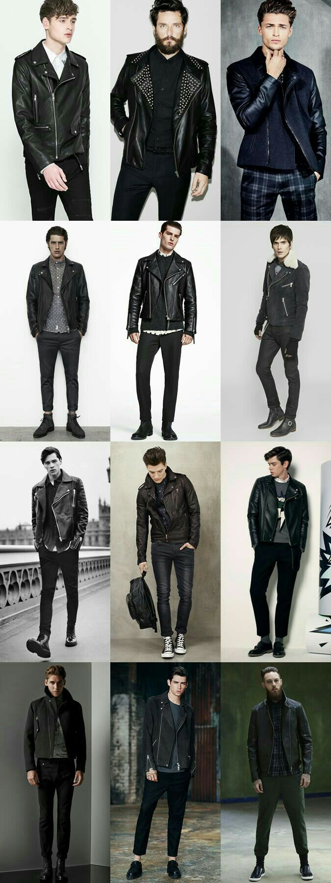 Style Rock clothing men recommend to wear for spring in 2019