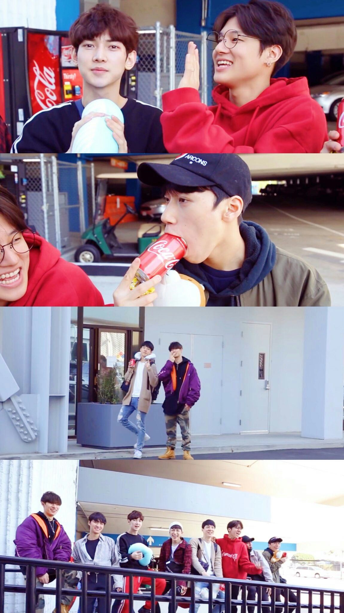 Peep Shiber While San Is Cronchin On His Coke