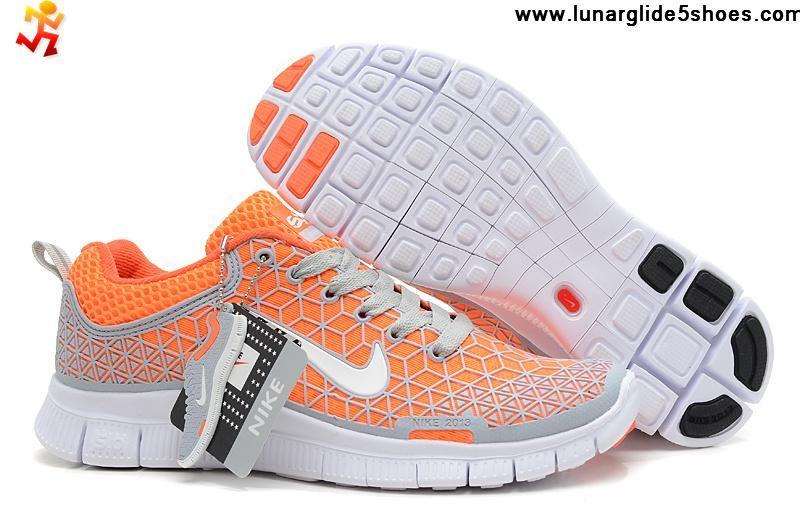 dfe3d191fbdae ... authentic buy womens nike free 6.0 soft grey total orange white shoes  running shoes shop 48e5b