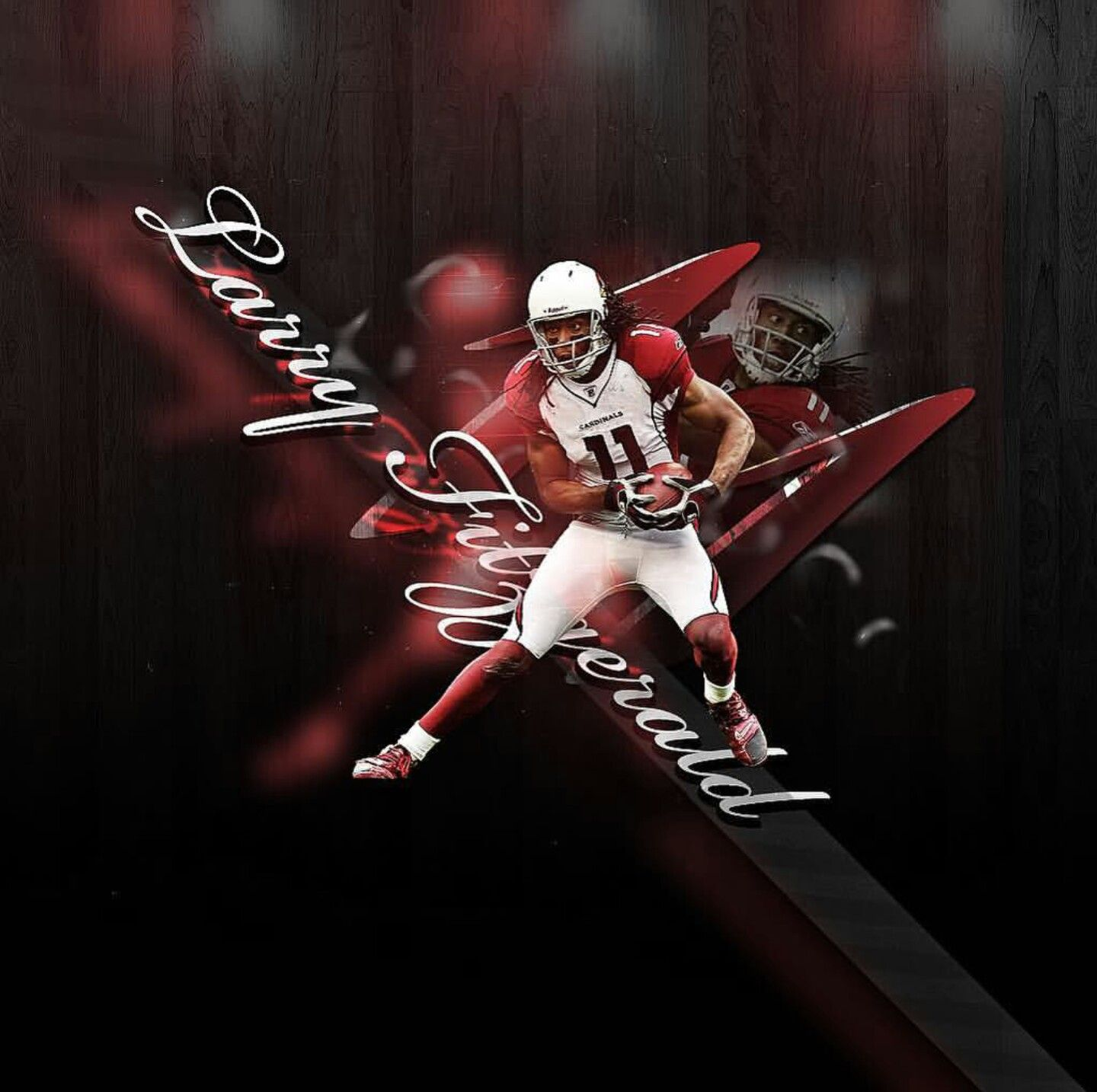 Pin By Fanucci Productions On Bird Gang Az Larry Fitzgerald Larry Fitzgerald