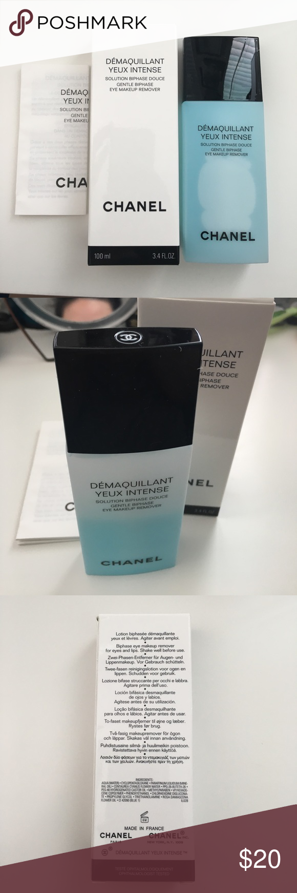 Chanel Demaquillant Yeux Eye Makeup Remover Chanel