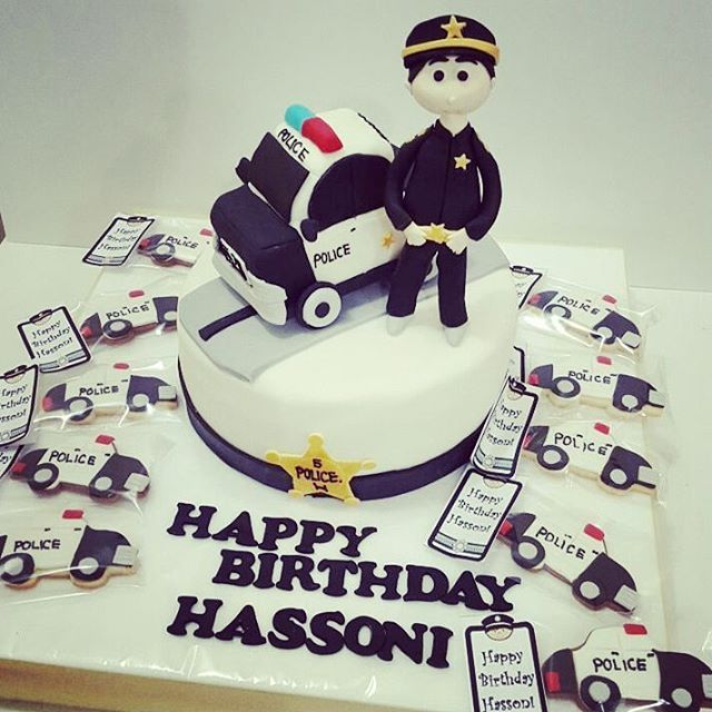 Mulpix كيكة عيد ميلاد كيكة عيد ميلاد Cake Birthday Birthday Cake شرطي Police Police Birthday Birthday Cake