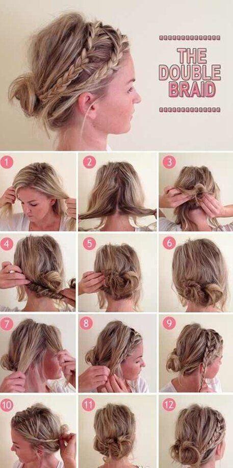 16 easy and chic bun hairstyles for medium hair casual updo 16 easy and chic bun hairstyles for medium hair pmusecretfo Choice Image