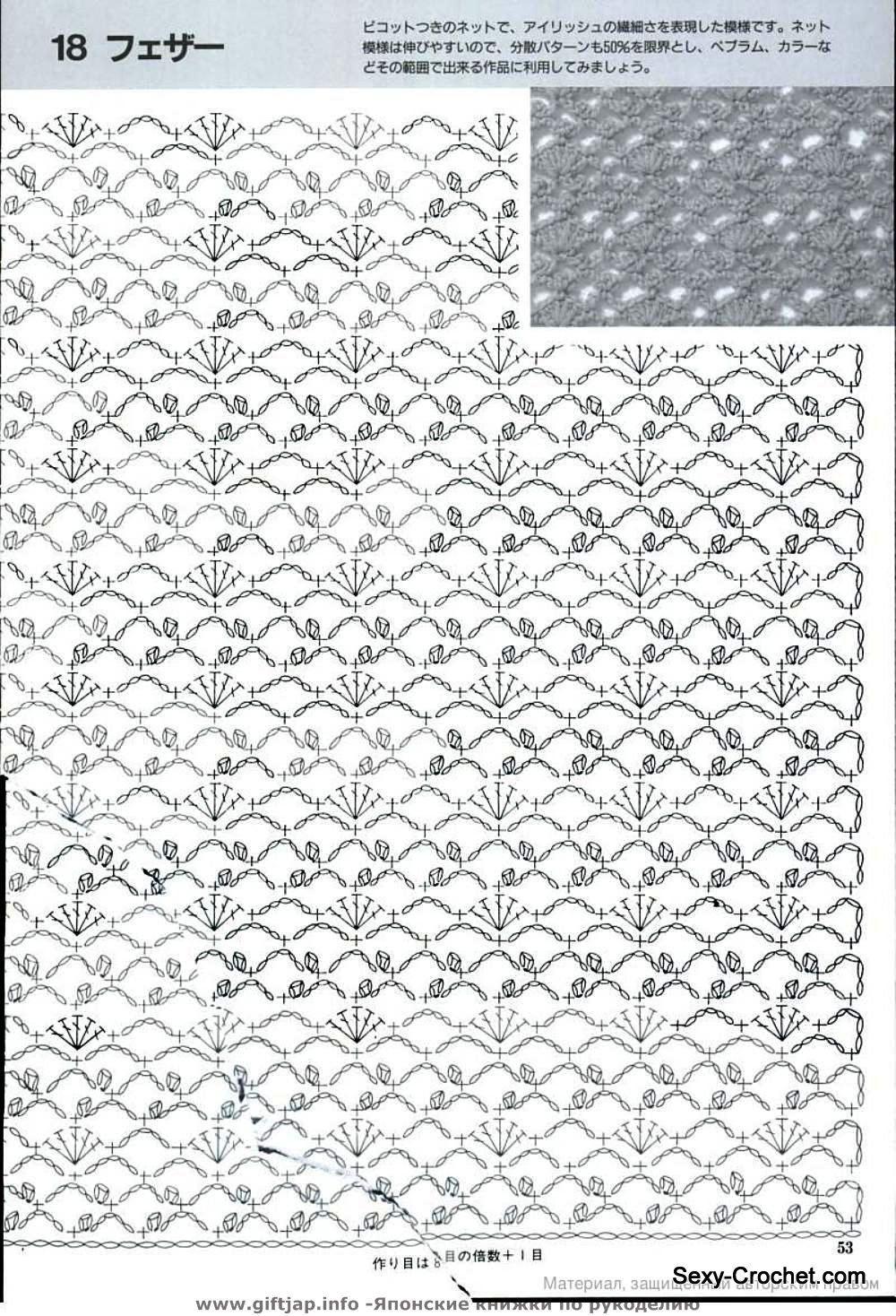 lacy crochet stitch | punti uncinetto | Pinterest | Esquemas, Falda ...