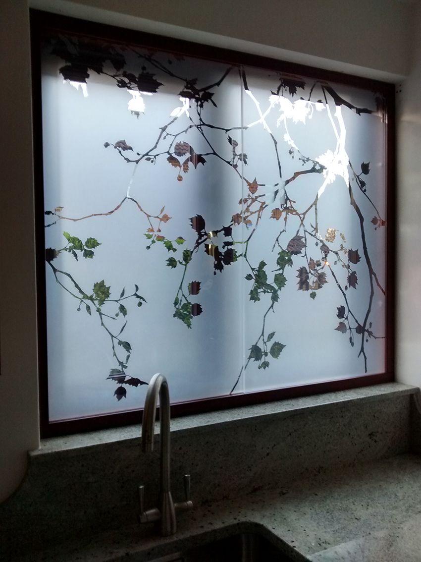 Window Glass Design, Etched Glass Door