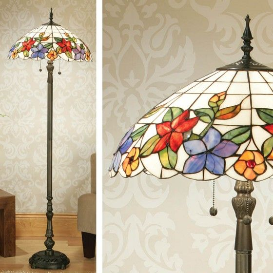 Country Border Floor Lamp Country Border Floor Lamp H