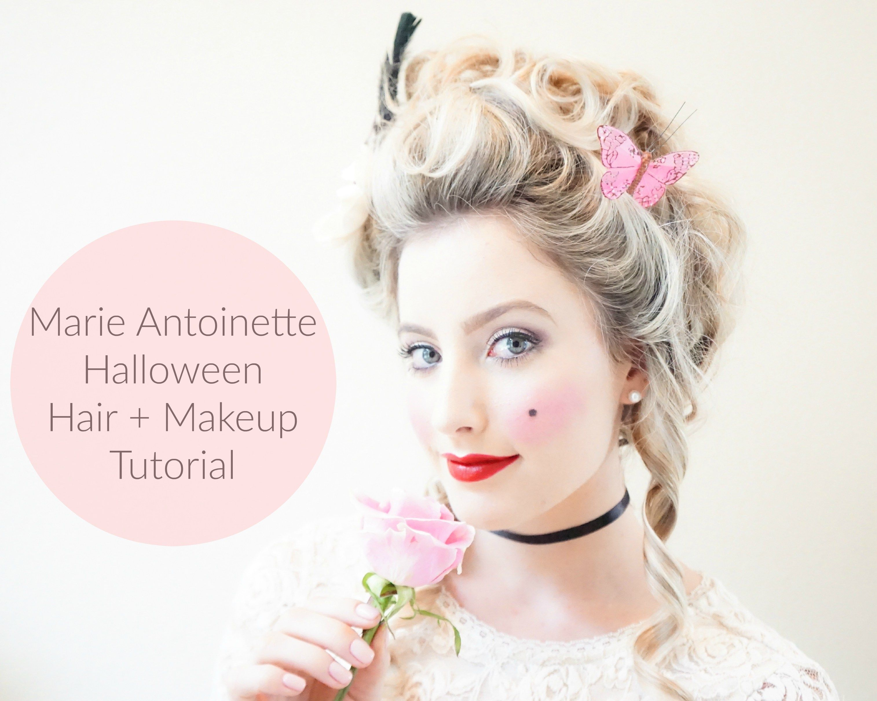 marie antoinette halloween hair makeup tutorial beauty hairdo 39 s barock kost m frisuren. Black Bedroom Furniture Sets. Home Design Ideas