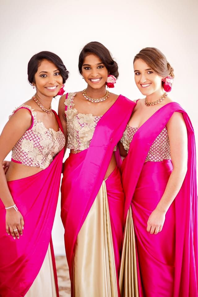 Bridesmaids Ibride by INDI Sri Lankan Bridal Designers and Services ...