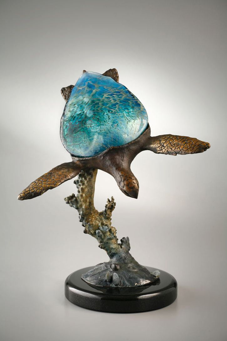 Sea Turtle Lamp By Dale Evers