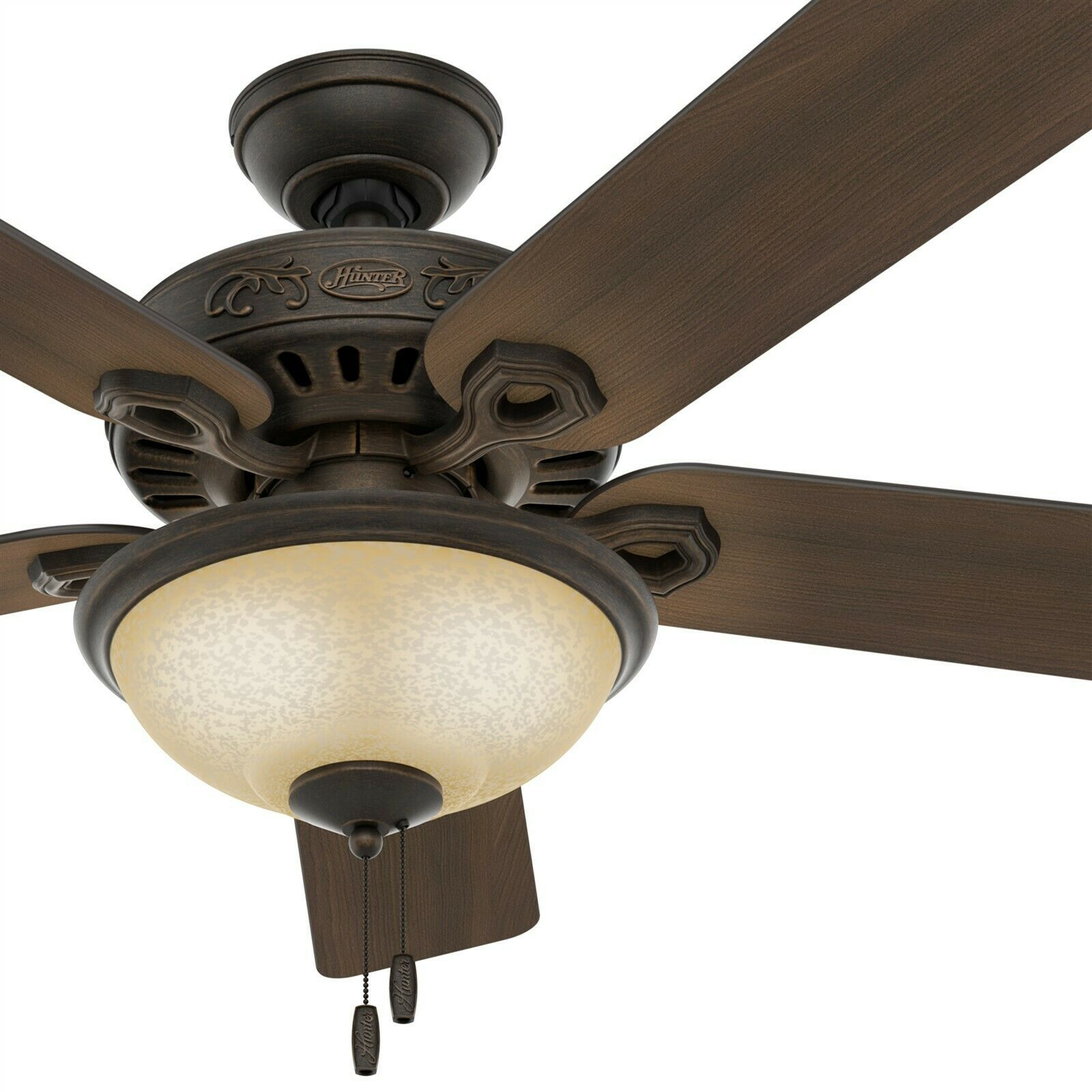 Details About Hunter Fan 52 Inch Traditional Midnight Copper