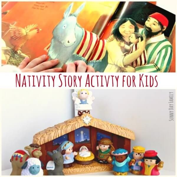 Goodnight, Manger: Nativity Story Activity for Preschoolers (With images) | The nativity story ...