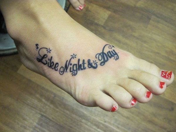 f35256fa3 just finished 25 Refined Foot Tattoos Quotes | Tattoos | Foot ...