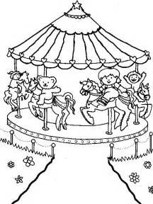 Picture Miscellaneous Coloring Sheets Amusement Park Coloring
