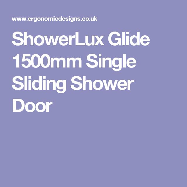 ShowerLux Glide 1500mm Single Sliding Shower Door Sc 1 St Pinterest  sc 1 st  pezcame.com & Showerlux Sliding Doors \u0026 Showerlux Sliding Shower Doors · Showerlux ...