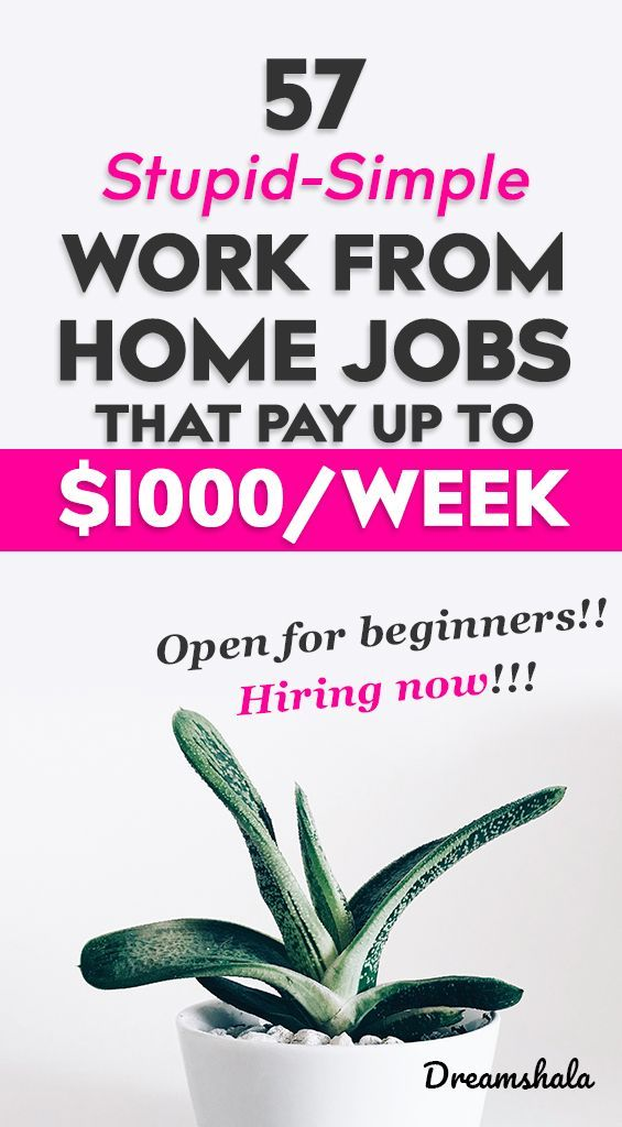 57 Legit Work From Home Companies That Pay Weekly - Dreamshala