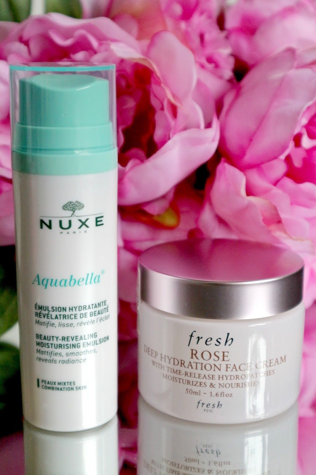 Fresh Rose Deep Hydration Face Cream Nuxe Aquabella Review