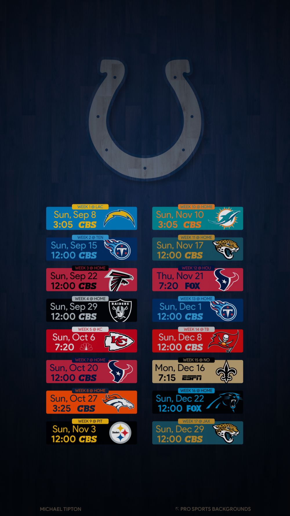 Pin On 2019 Nfl Mobile Schedule Wallpapers V3