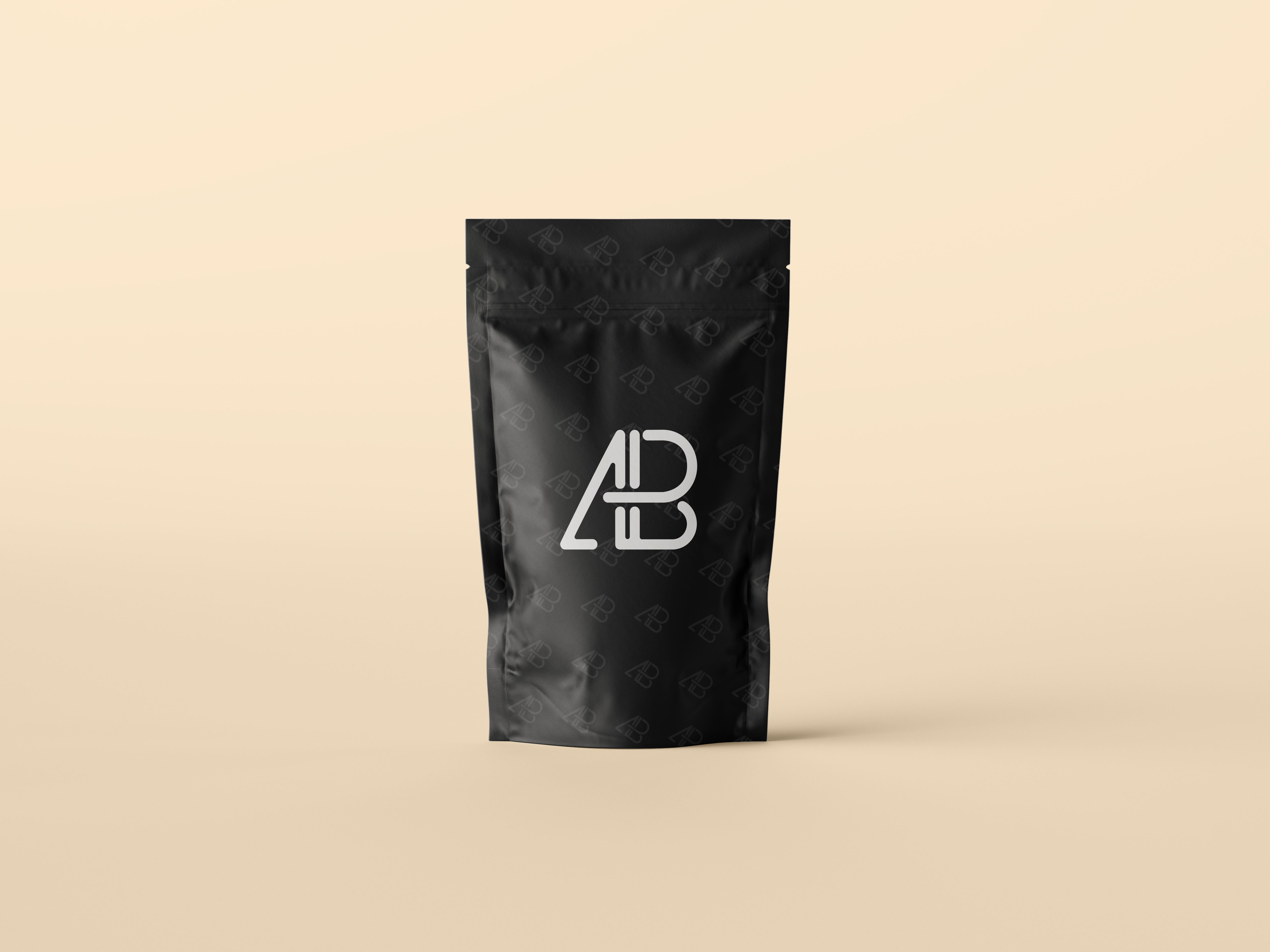 Download Pouch Bag Packaging Mockup | หีบห่อบรรจุภัณฑ์