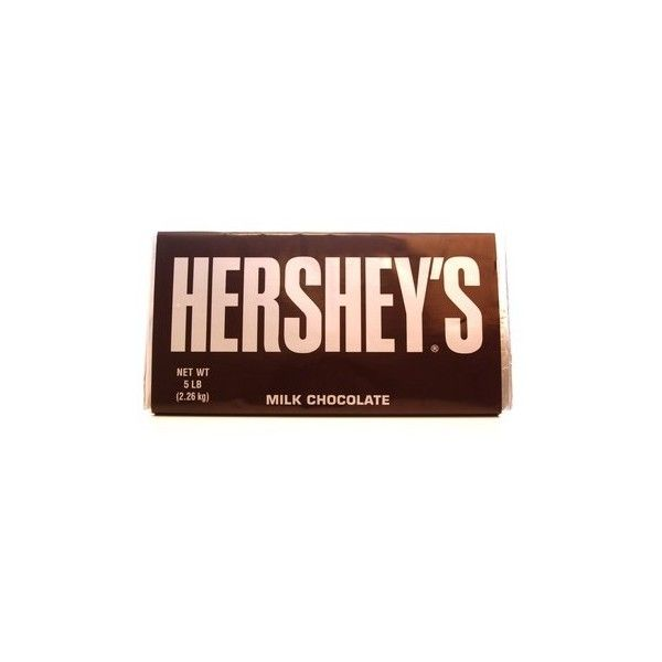 Giant Hershey Bar in Novelty Candy at Dylan's Candy Bar ($75) ❤ liked on Polyvore featuring fillers, food, accessories, candy and chocolate