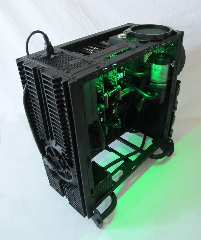 Cooler Master Case Mod H R Giger Tribute Biomechanical