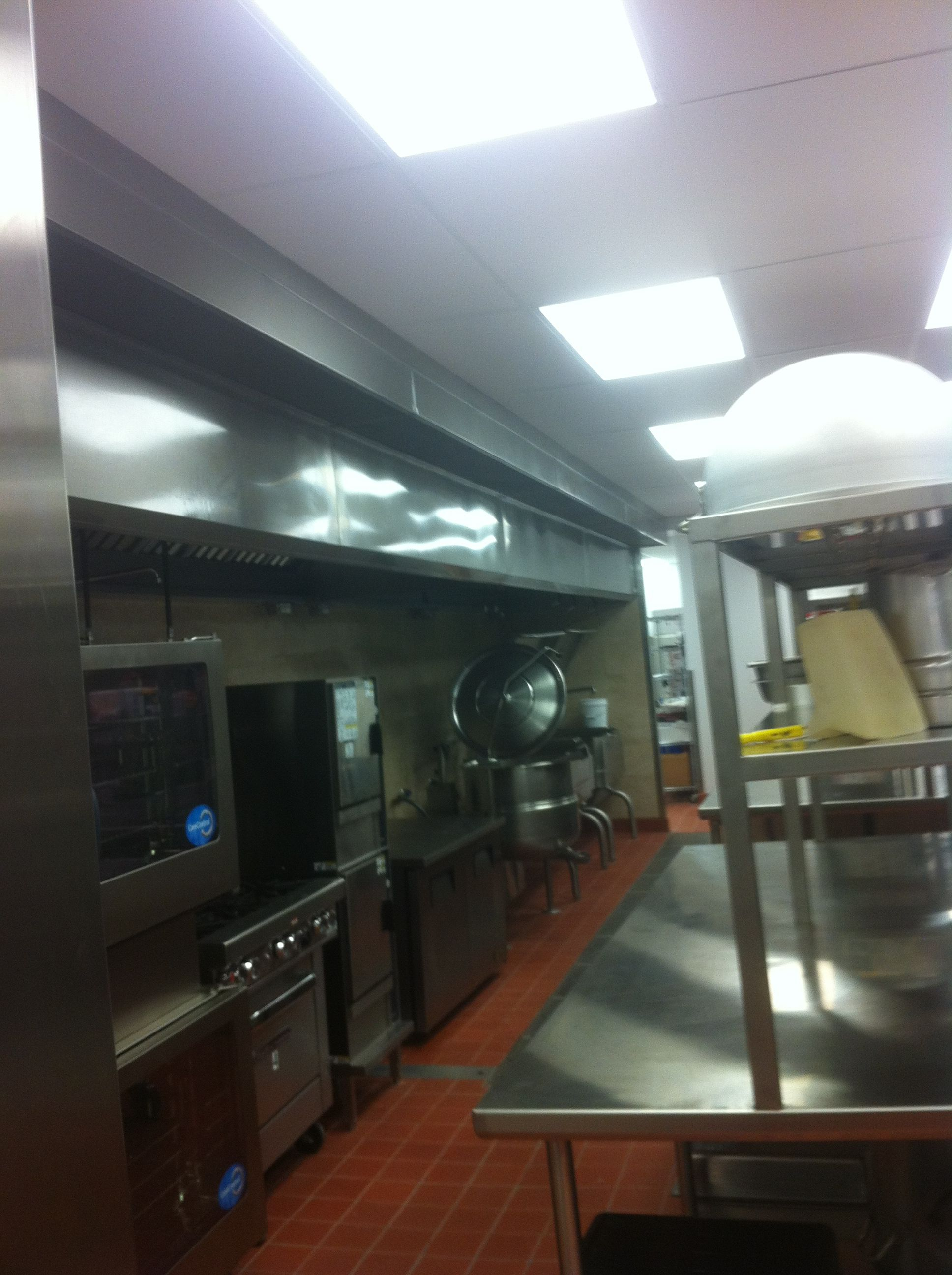commercial kitchen hood installation marble tables hoodmart exhaust