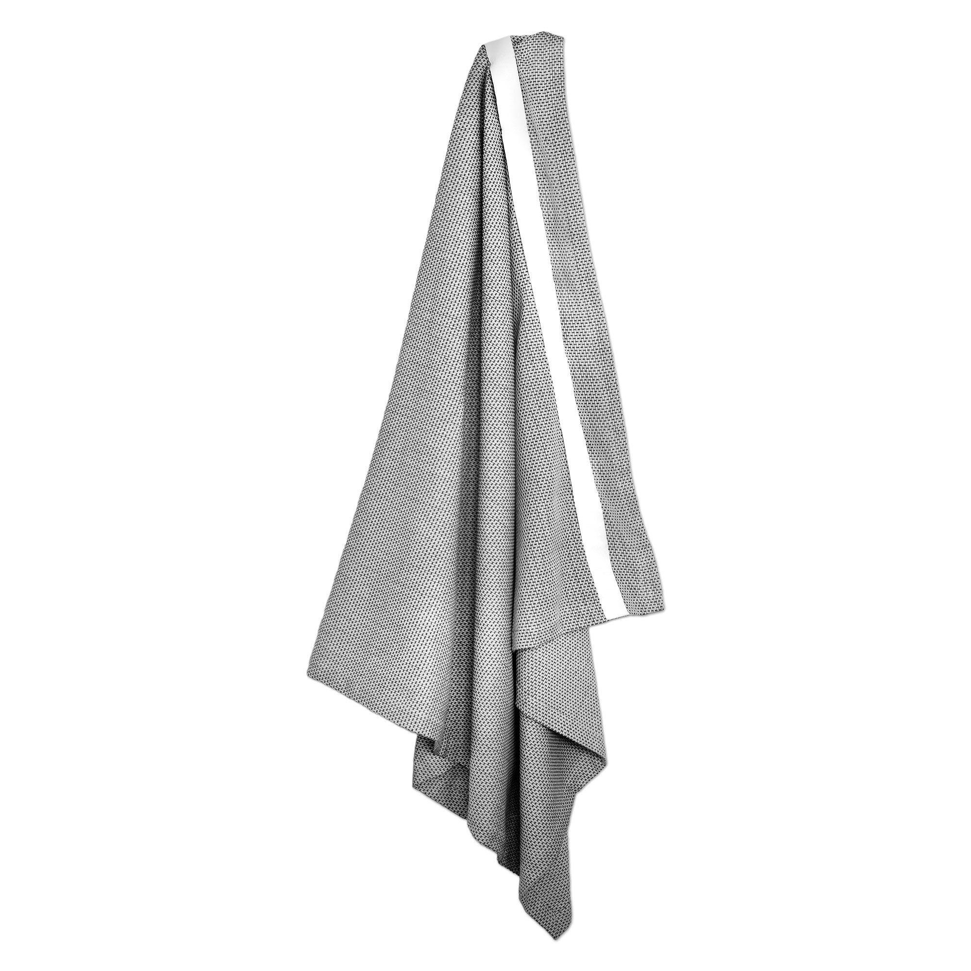 The Organic Company Wellness Towel Morning Grey