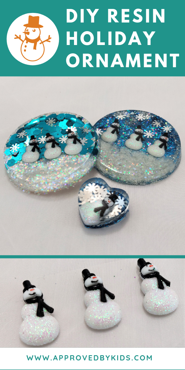 DIY Holiday Resin Ornaments