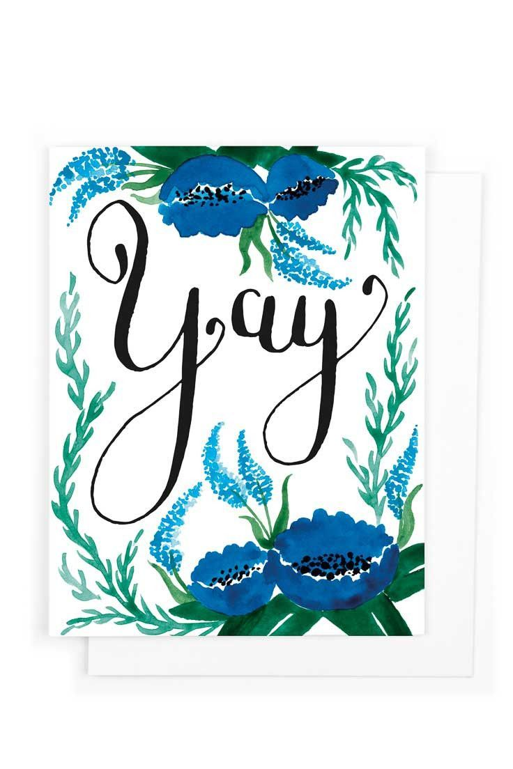 Yay Congratulations Card Success Encouragement And
