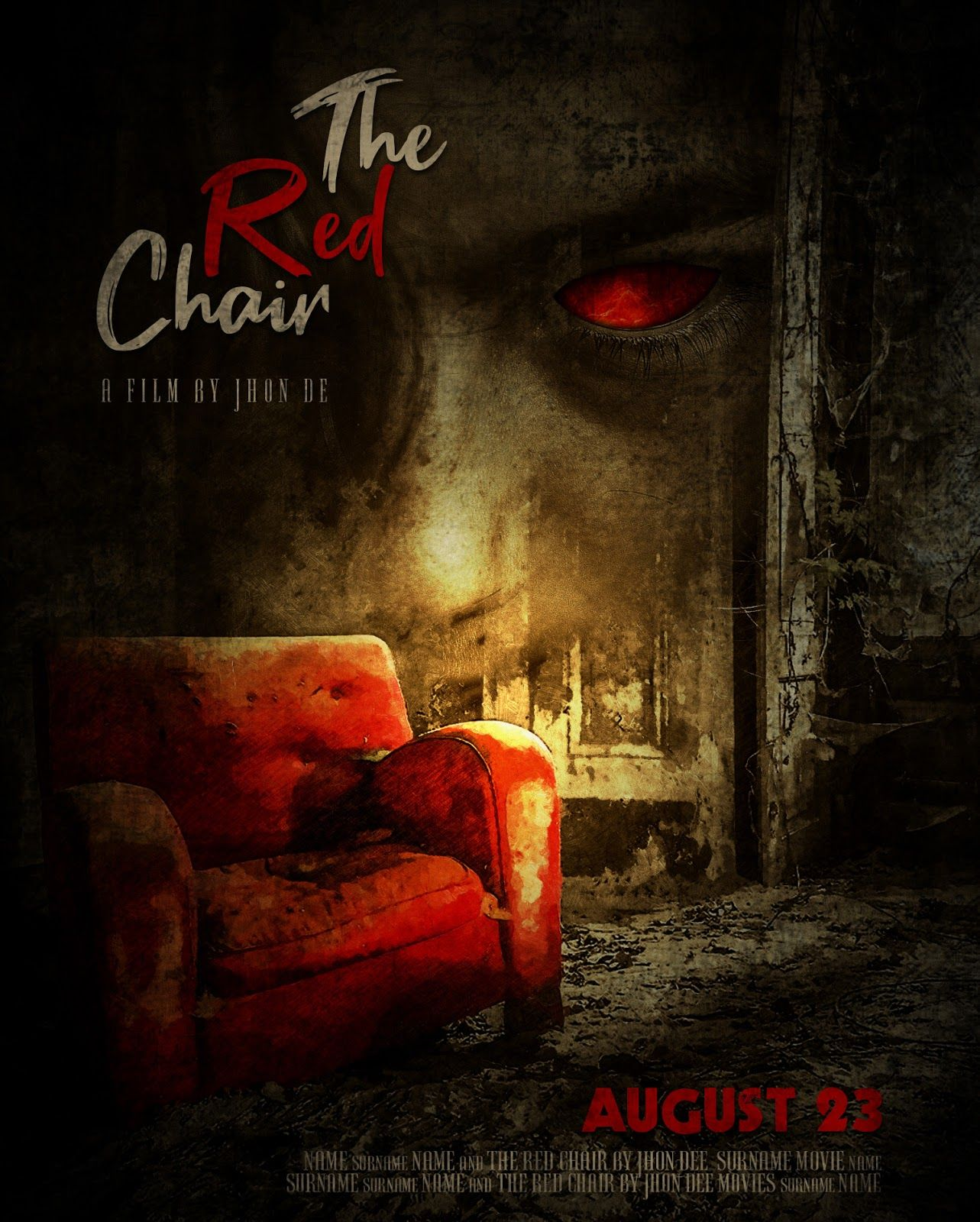 Design A Scary Horror Movie Poster In Photoshop Cc Horror Movies Scariest Horror Movie Posters Photoshop