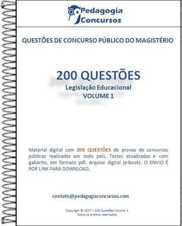 200 Questoes Colecao Legislacao Educacional Ldb Eca