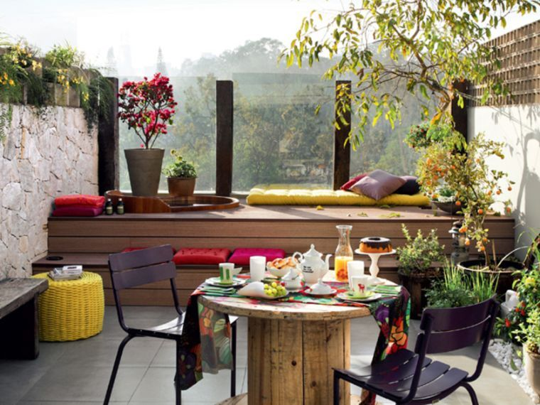 Déco extérieur - idées d\'aménagement petite terrasse | Outdoor retreat