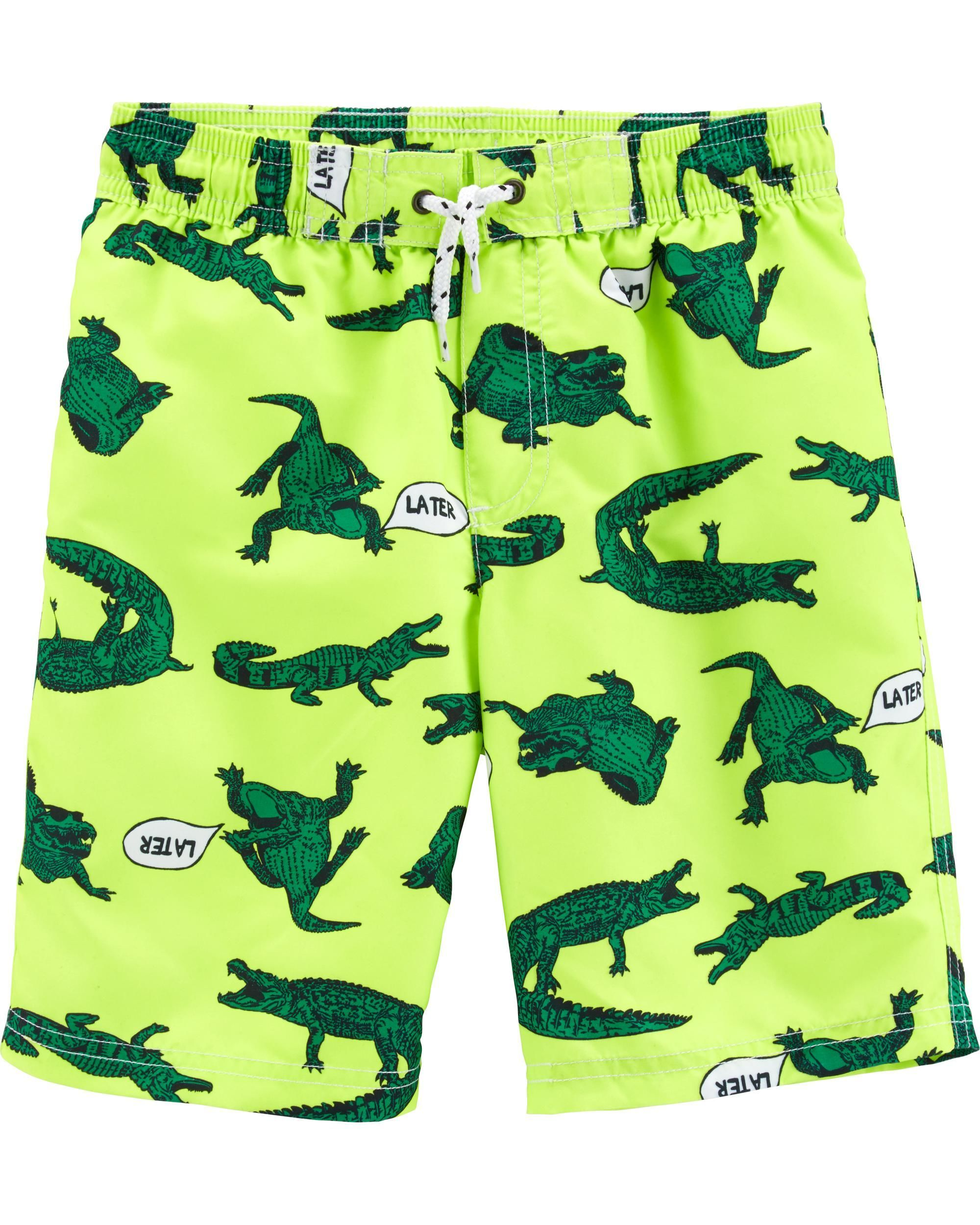 a8e1d1d02b Alligator Swim Trunks | SWIM | Carters baby clothes, Carters ...