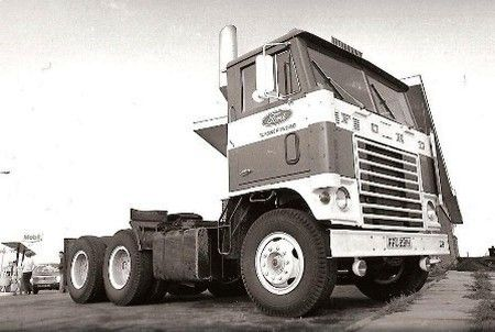 Ford W Gas Turbine Semi Trucks